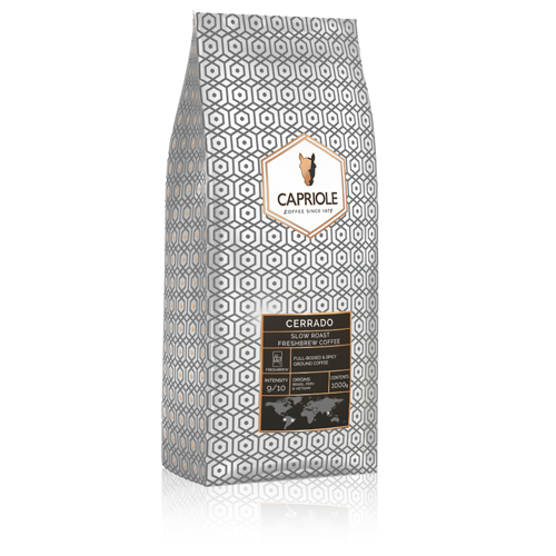 Capriole Coffee Cerrado Ground Freshbrew Coffee